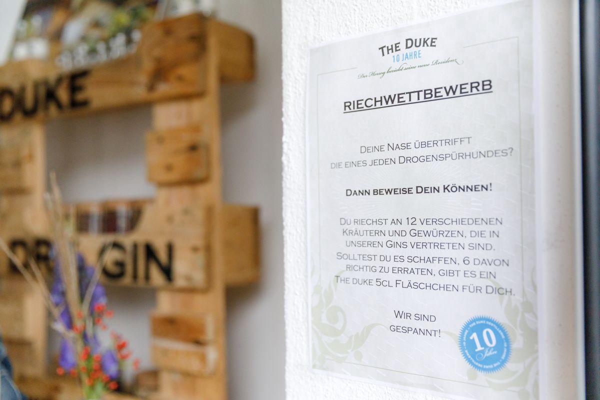 THE DUKE Botanical Reichwettbewerb