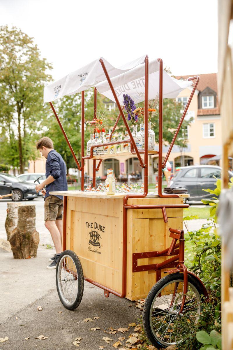 THE DUKE Premixes am Flaschenradl zum 10-Jährigen