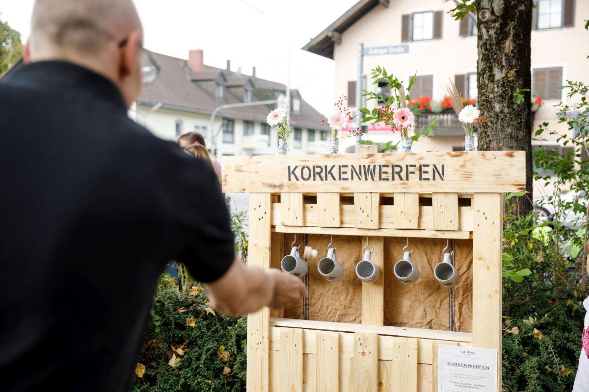 THE DUKE Korkenwerfen