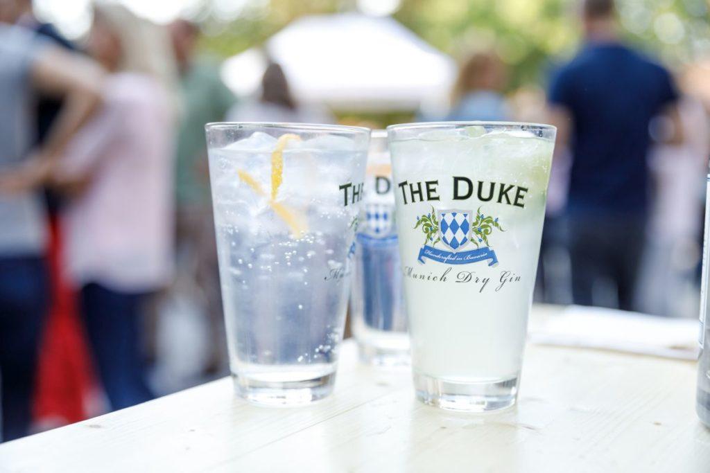 THE DUKE Gin Tonic an der Classics Bar
