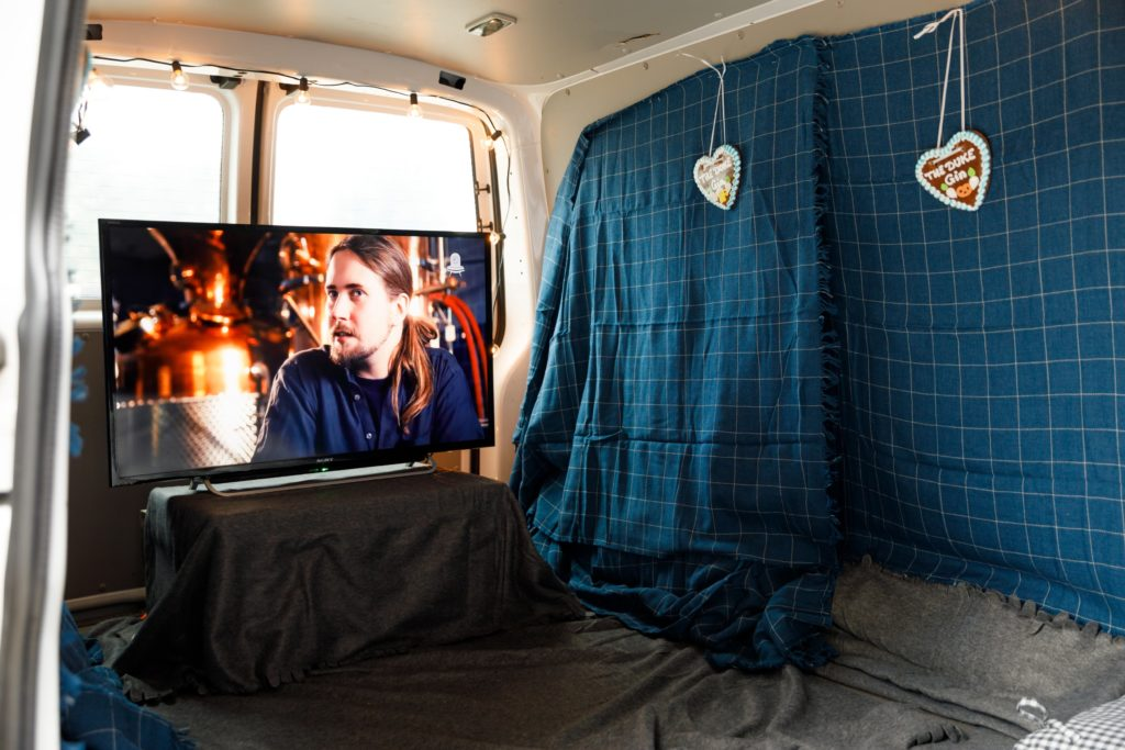THE DUKE Kinobus am Tag der offenen Tür
