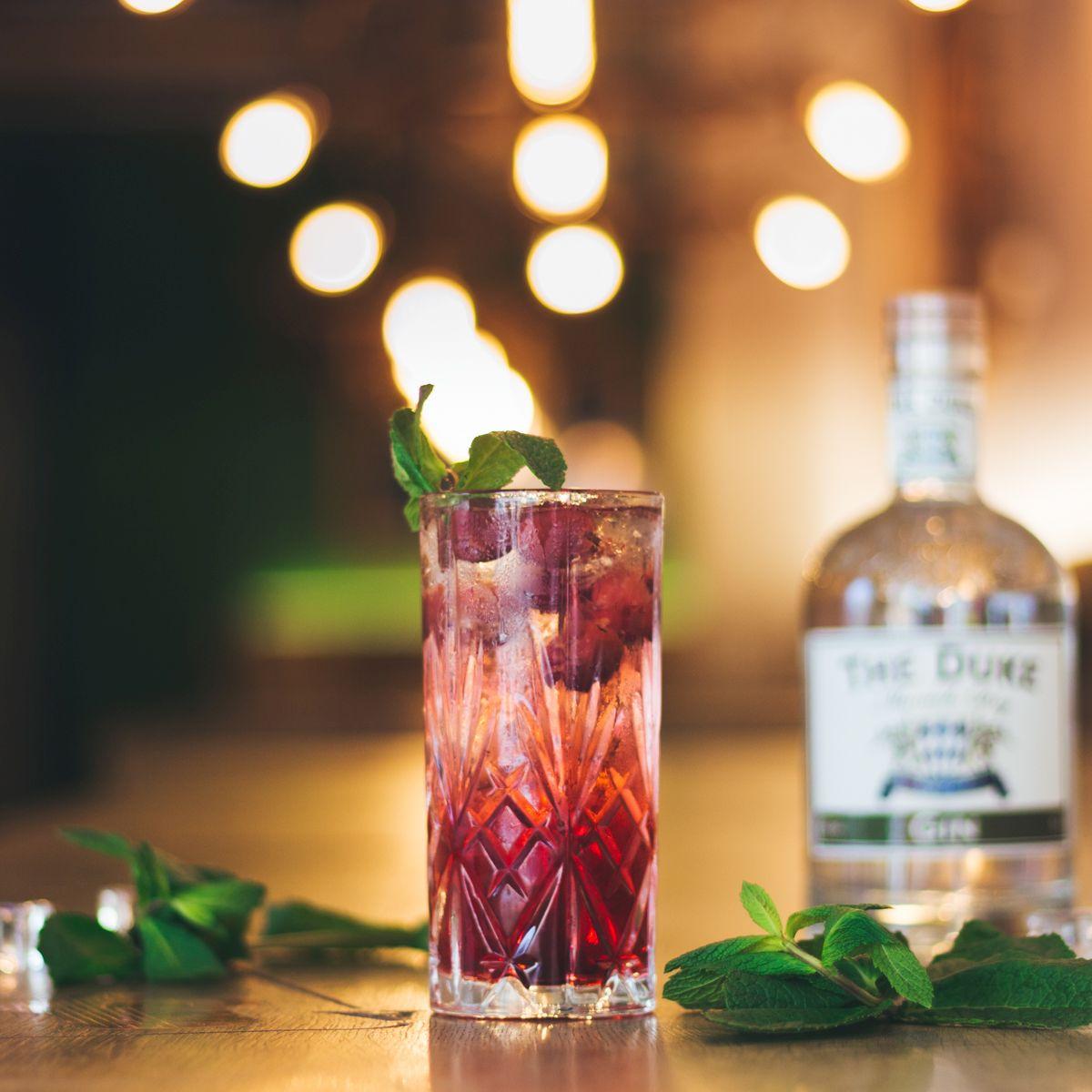 """Cherry Vanilla Kiss"" - Platz 2 der THE DUKE Cocktail Competition"