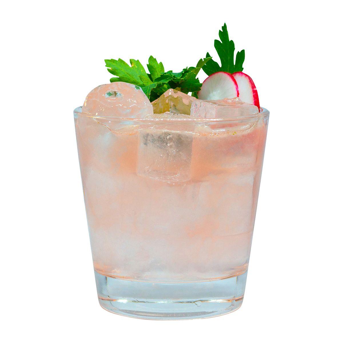 """""""Gin Radi Smash"""" - Gin Cocktail aus dem """"Trumpf oder Kritisch"""" in München"""