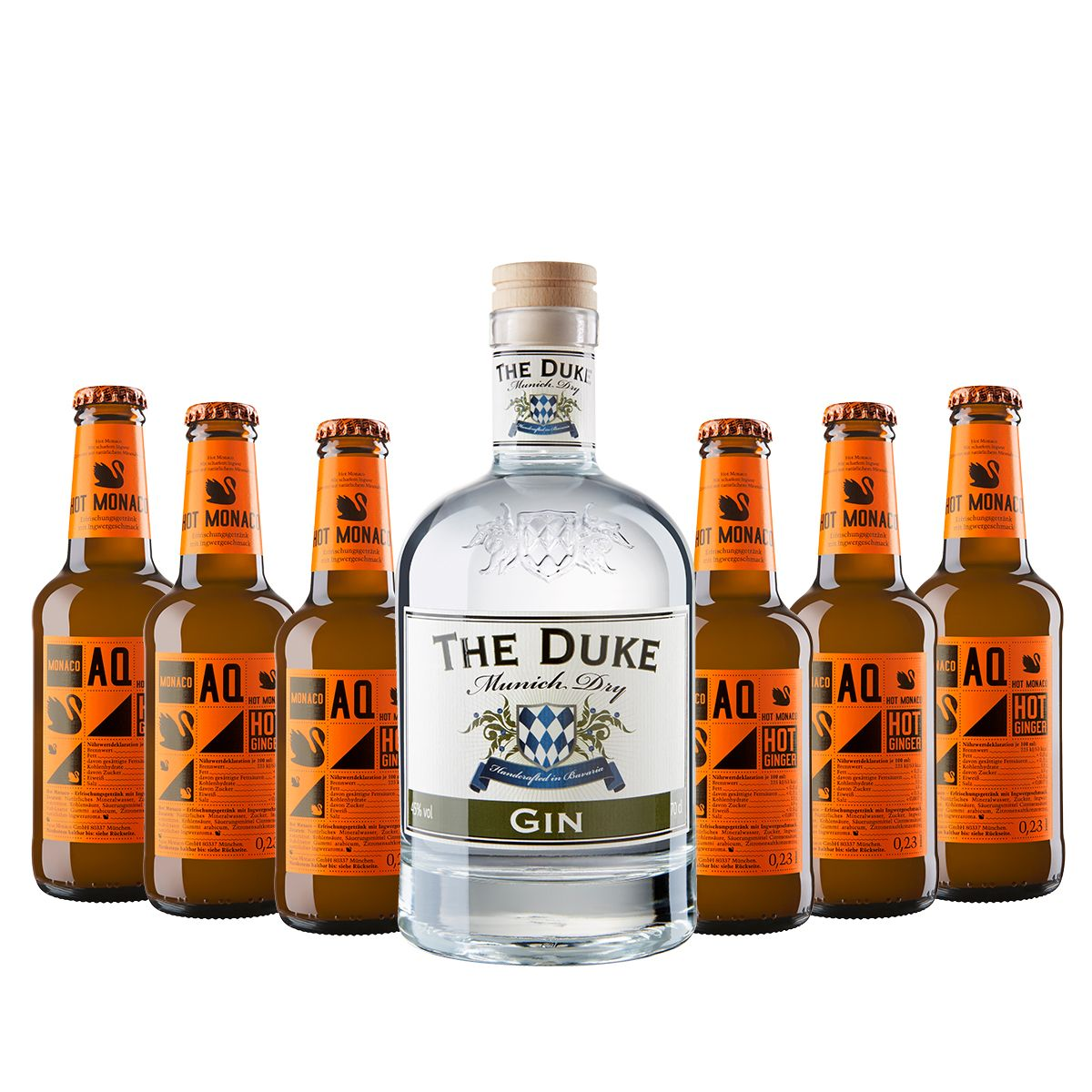 THE DUKE Munich Dry Gin und Hot Ginger Beer von Aqua Monaco