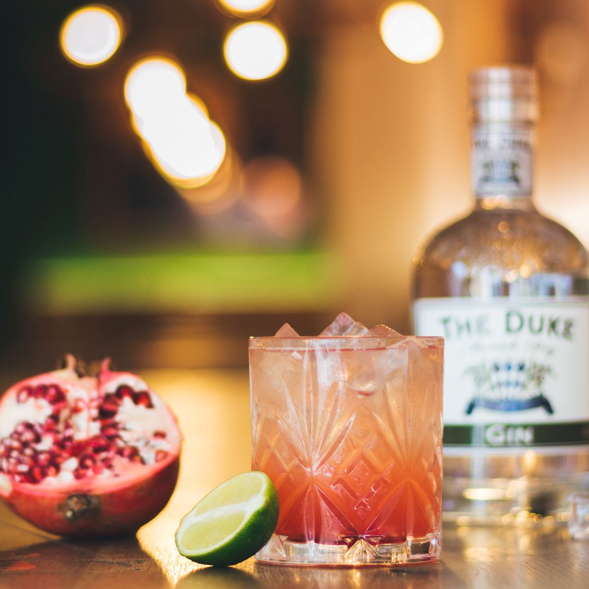 """Sole Rosso"" - Platz 3 der THE DUKE Cocktail Competition"
