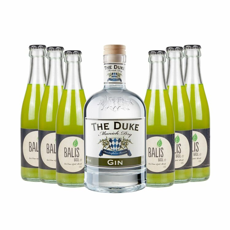 Munich Basil Mule Set THE DUKE Gin