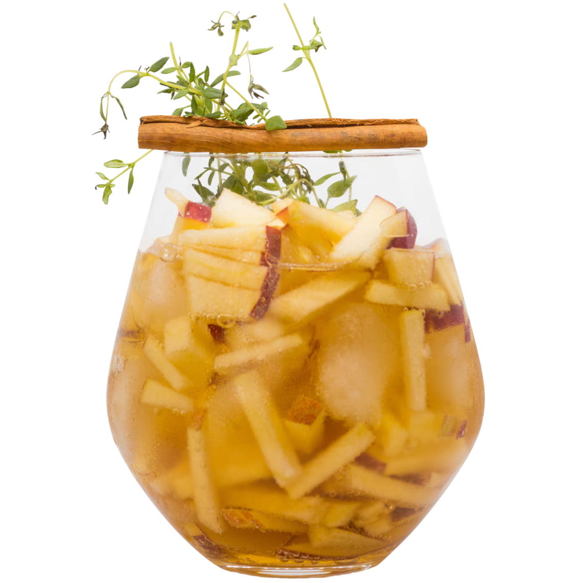 "Cocktail ""Winterapfel"" mit THE DUKE Rough Gin Freisteller"