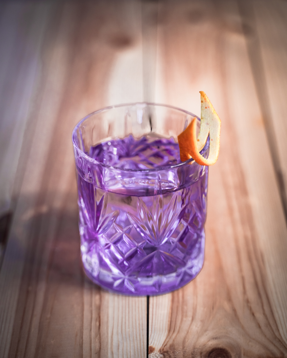 THE DUKE Gin Cocktail: Purple Negroni