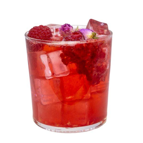 Duchess Lemonade mit THE DUKE Wanderlust Gin und Eizbach Rosenblüte - Rezept zum Nachmixen