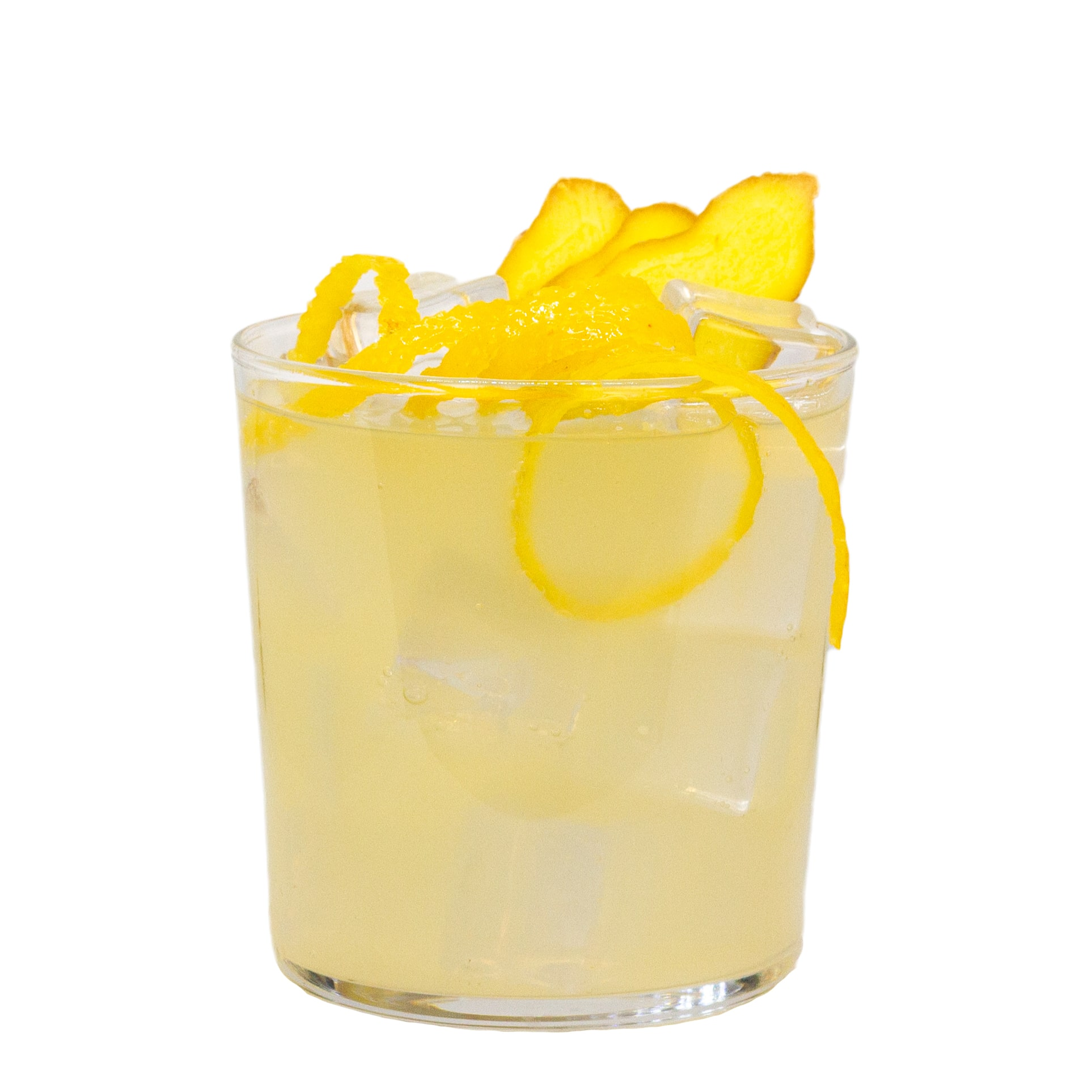 LION's Lemonade mit LION's Vodka und Eizbach Zitrone