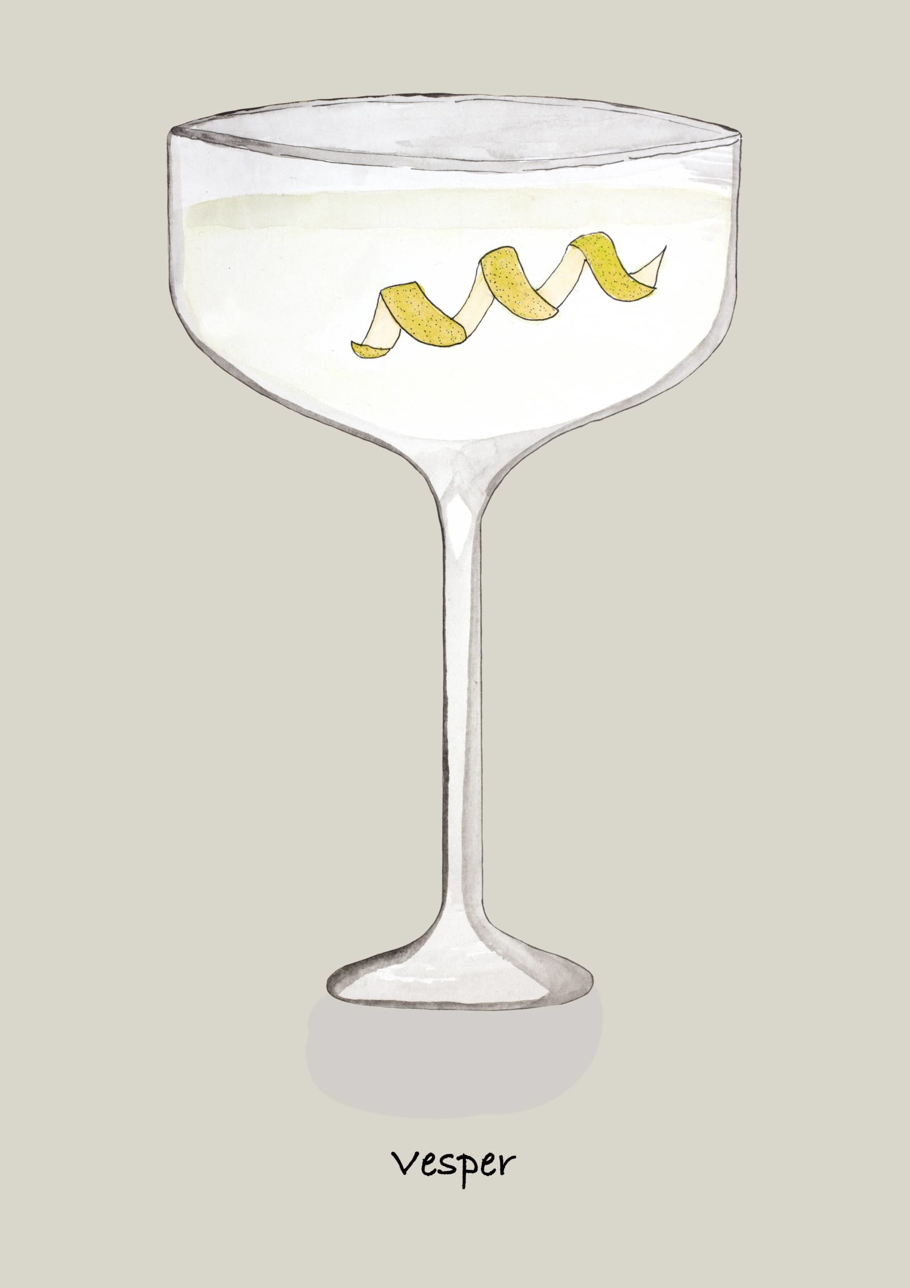 LION's Vodka Classics: Vesper Martini