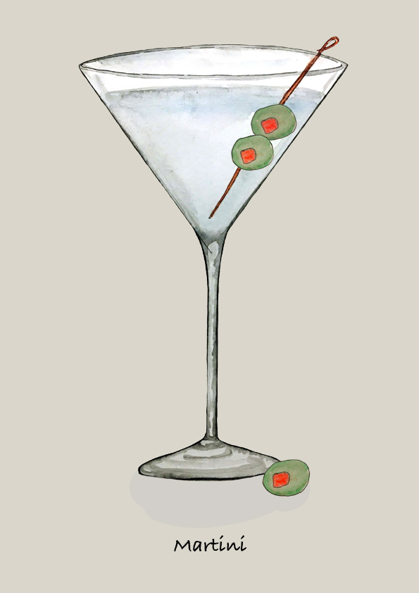 LION's Vodka Classics: Vodka Martini