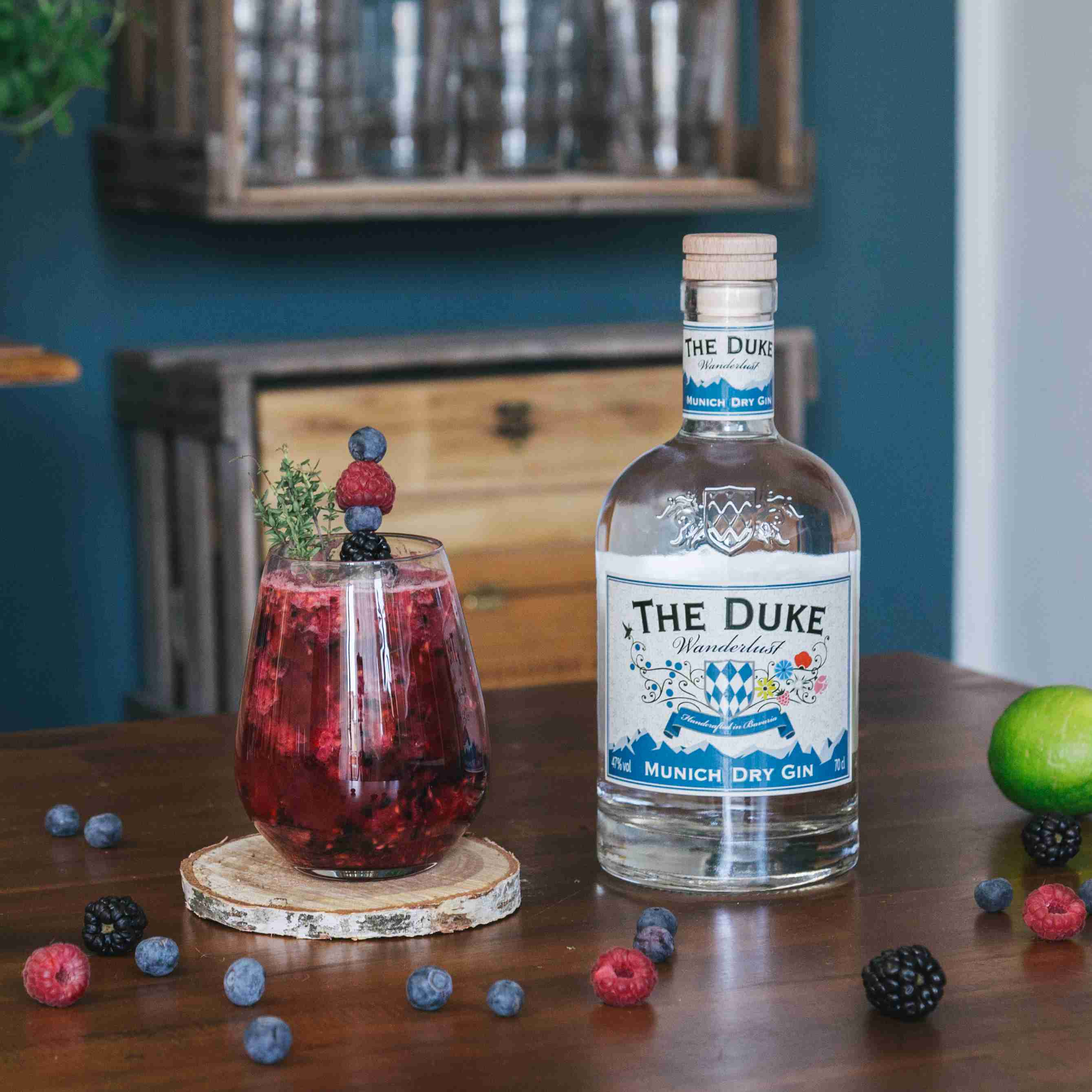 Berry Gin Collins - Tom Collins Variationen