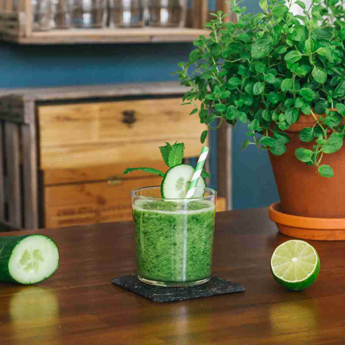 THE DUKE Cucumber Lime and Mint Gin Slushie
