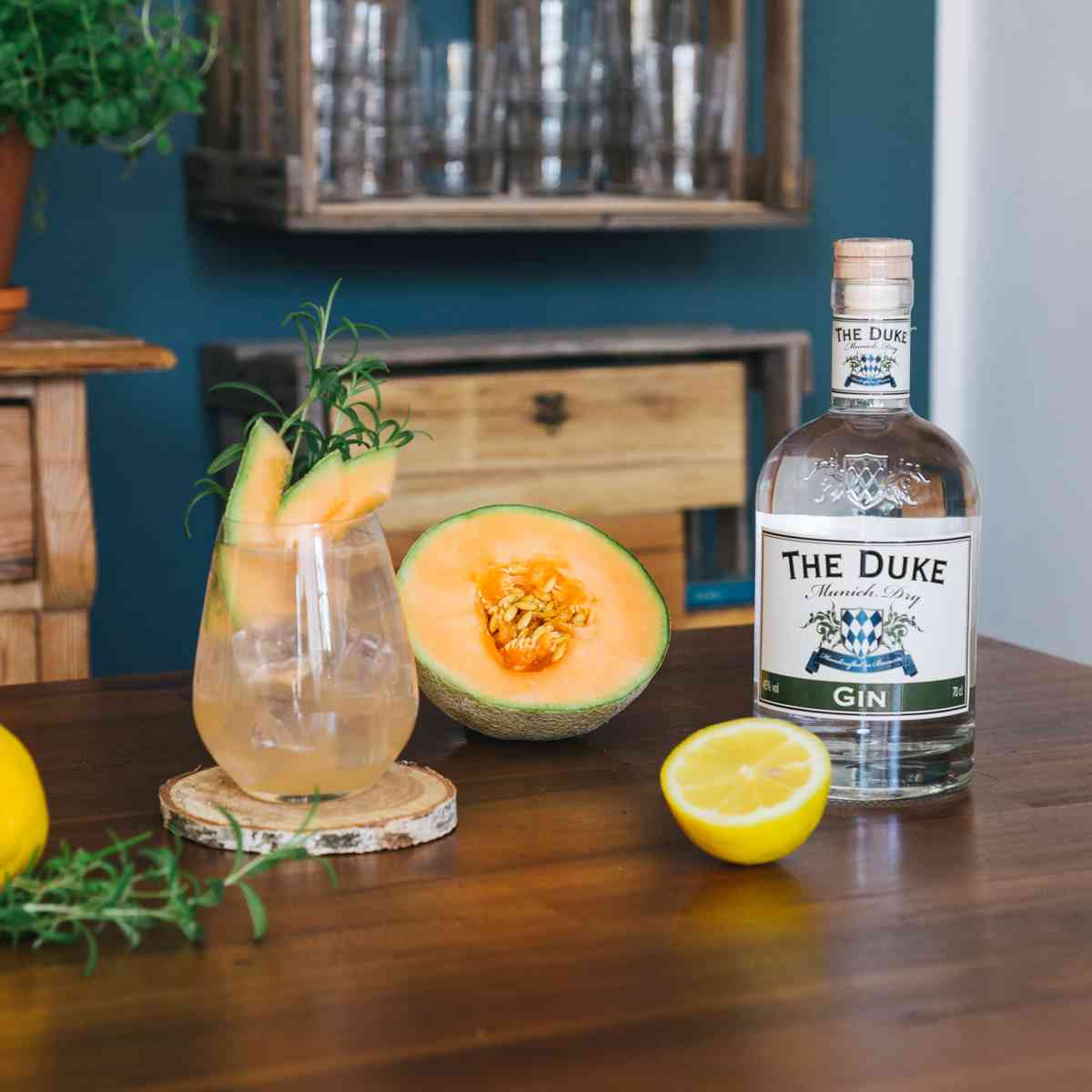 Melon Gin Collins - Tom Collins Variationen mit THE DUKE