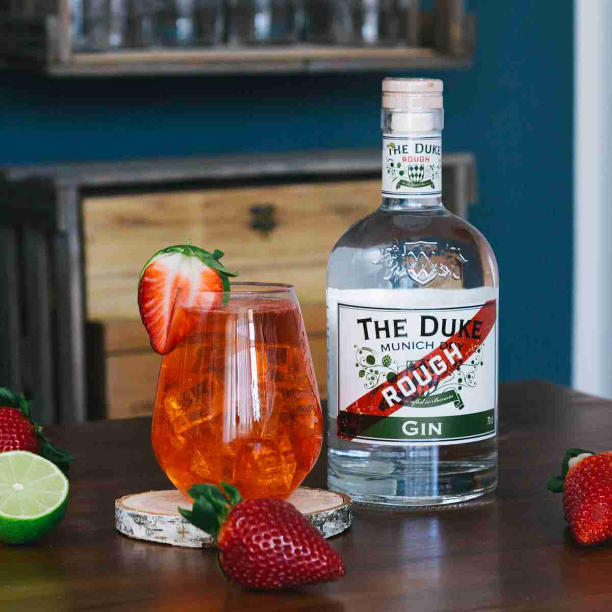 Strawberry Gin Collins - Tom Collins Variationen mit THE DUKE