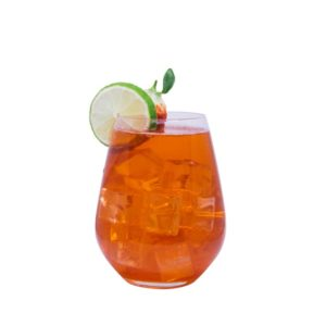 THE DUKE Tom Collins Variation: Strawberry Lime Gin Collins