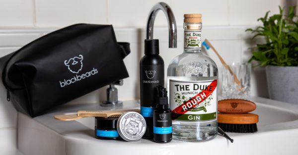 Blackbeards Bartpflegeset und THE DUKE Rough Gin