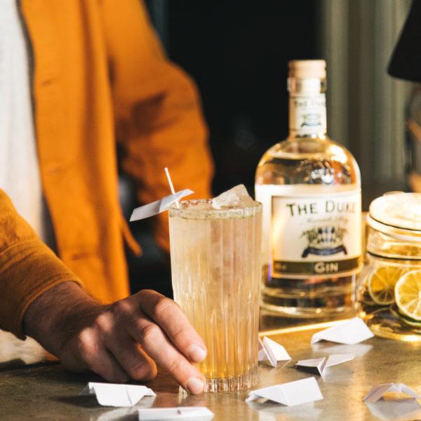Fly High CBD Cocktail Martin Bieringer THE DUKE Gin