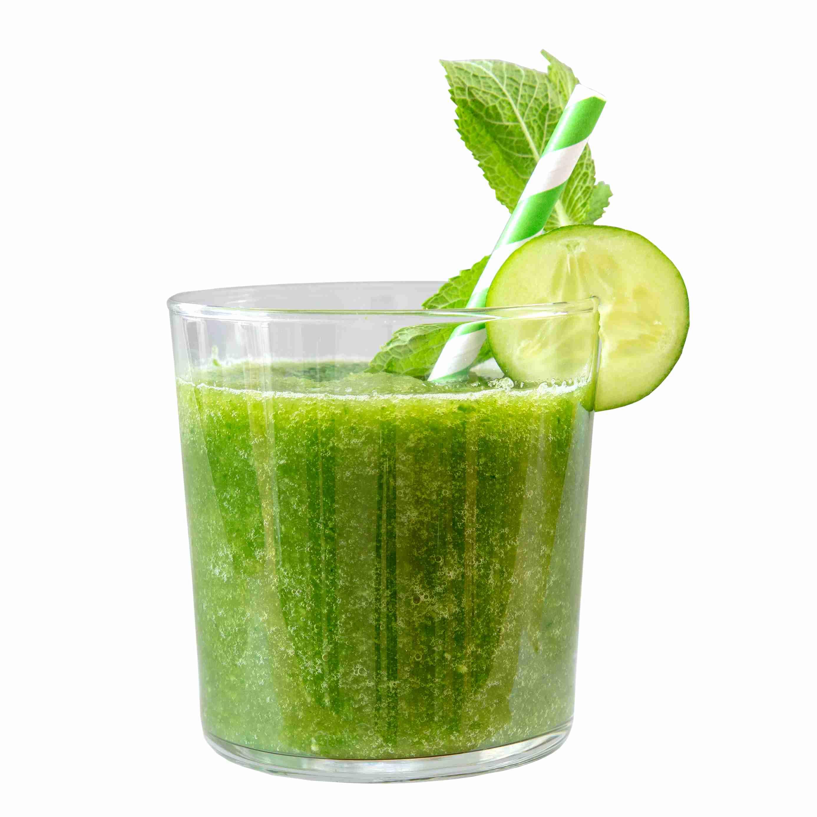 Green Gin Slushie - THE DUKE Munich Dry Gin