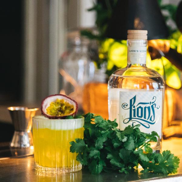 Green Lion's Vodka Cocktail Martin Bieringer James T. Hunt