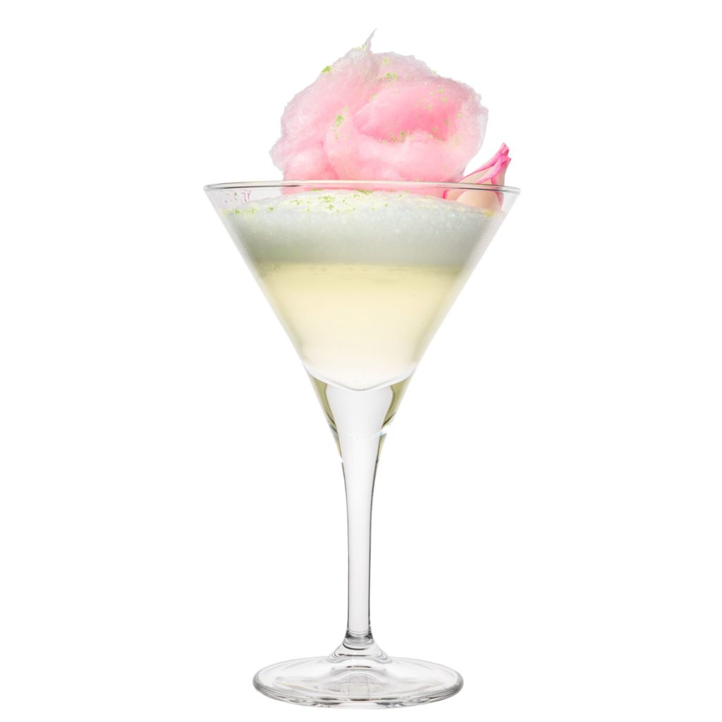 Cotton Candy Drink mit THE DUKE Munich Dry Gin