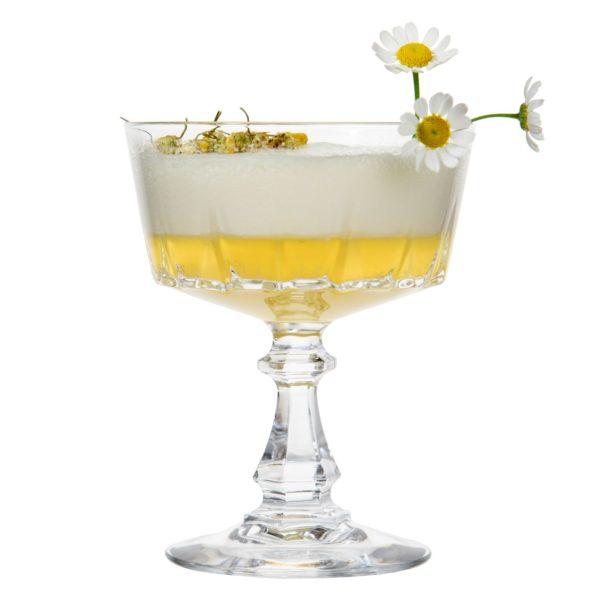 Chamomile Gin Sour mit THE DUKE Gin