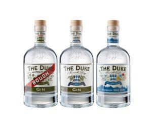 THE DUKE Munich Dry Gin Wanderlust Rough Trio 3er Set
