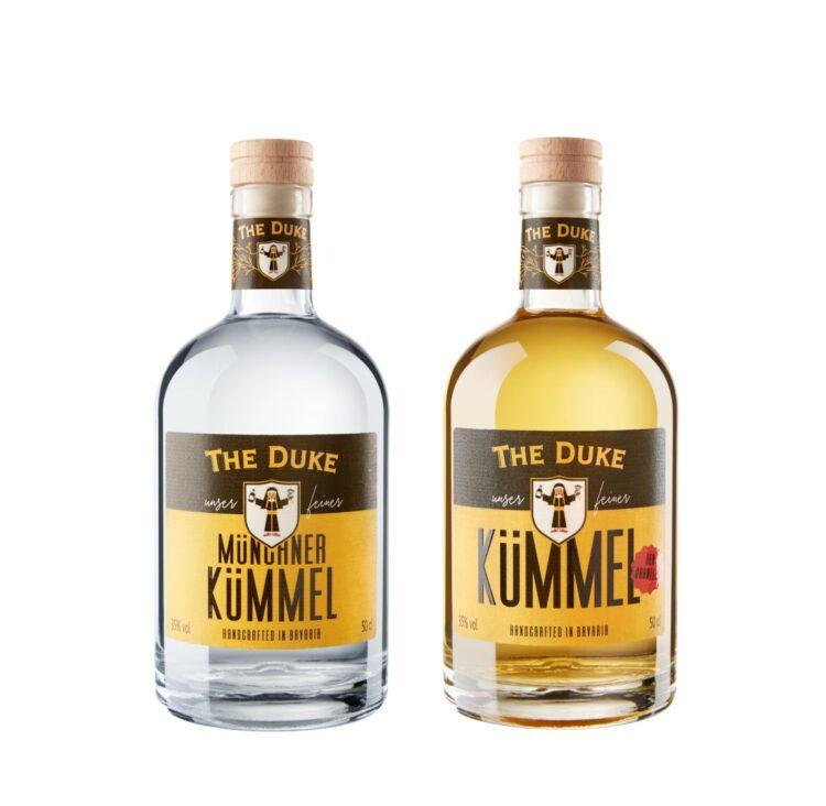 Feiner Münchner Kümmel THE DUKE Destillerie
