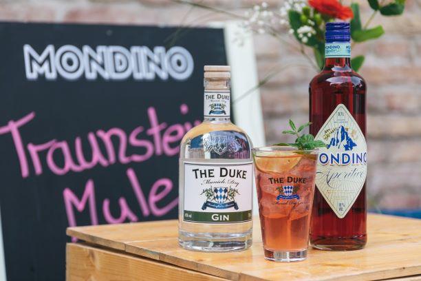THE DUKE Munich Dry Gin mit Mondino Amaro Bavarese