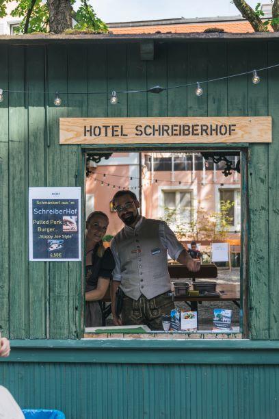 Essen vom Achat Hotel Schreiberhof in Aschheim