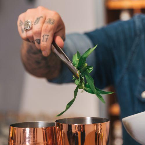 Drinks mixen mit Estragon - THE DUKE Gin