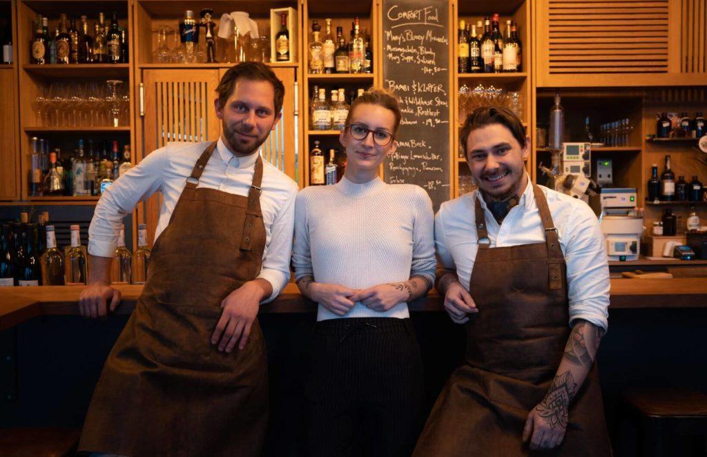 Team Menage: Johannes Möhring Paulina Nowakowska, André Kohler