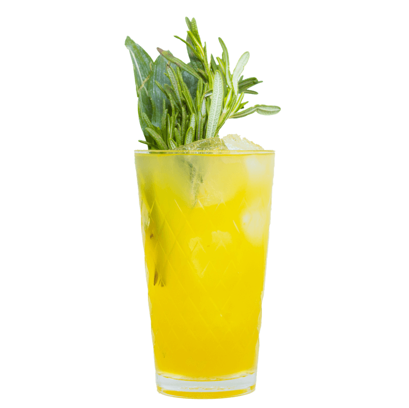 """THE DUKE """"Asasanas"""" Drink mit Gin und Ananas"""