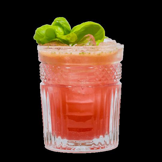 "THE DUKE Gin ""Rasberry Basil Gin Tonic"""