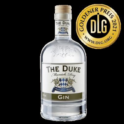 THE DUKE Munich Dry Gin 0,7l Freisteller vorne (neues Etikett)