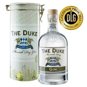 THE DUKE Munich Dry Gin und Metalldose