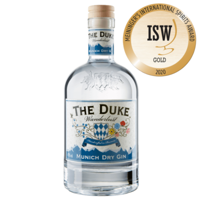 THE DUKE Wanderlust Gin mit Goldmedaille