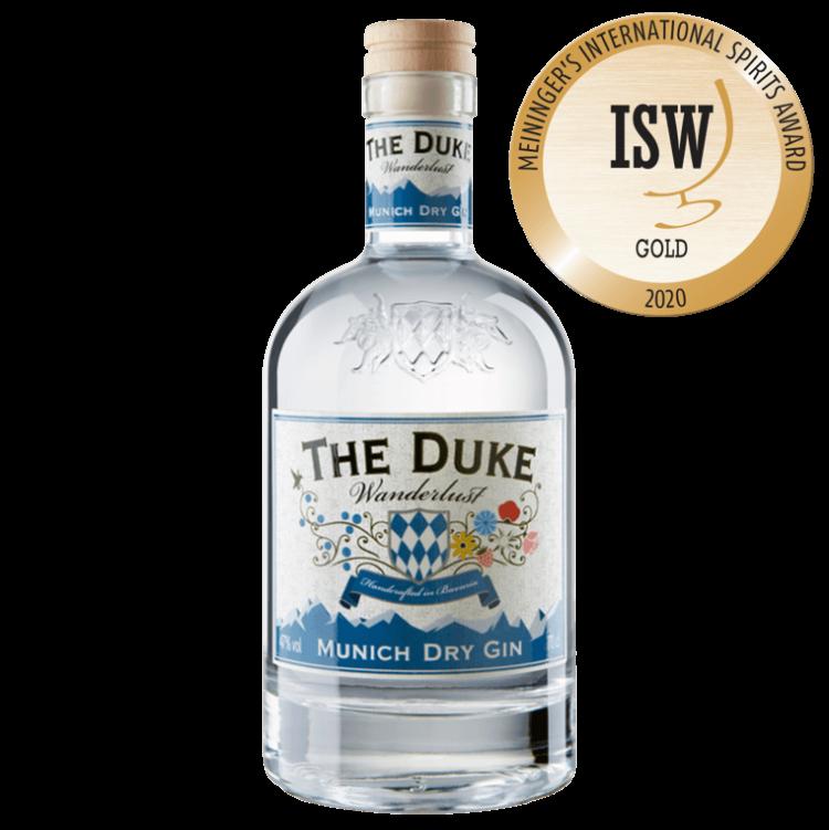 THE DUKE Wanderlust Gin mit Goldmedaille