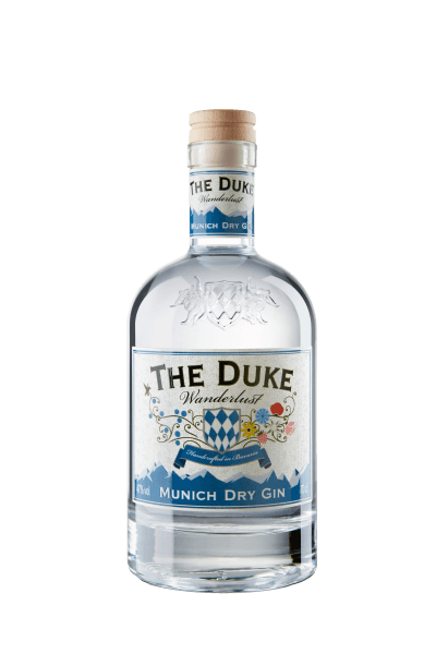 Flasche THE DUKE Wanderlust Gin Munich Dry Gin 70cl