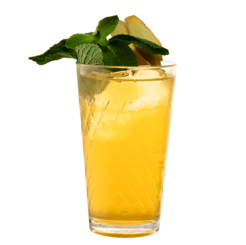 Longdrink mit Ingwer Liqueur aus der THE DUKE Destillerie und Balis Tiki