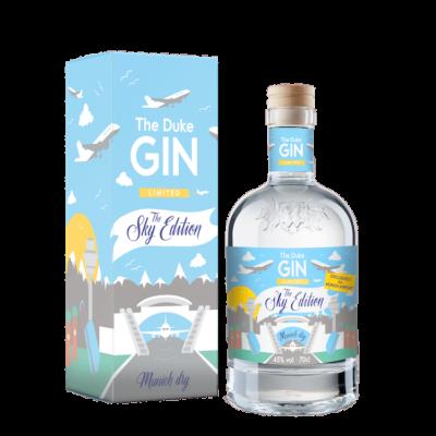 Limitierte Sky Edition des THE DUKE Munich Dry Gin für den Flughafen München