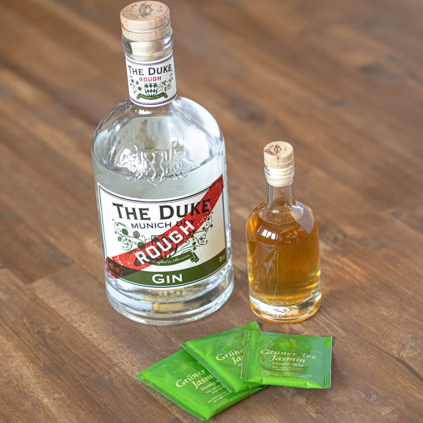 THE DUKE Rough Gin infused mit Jasmintee