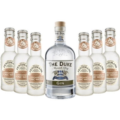 Gin & Tonic Set mit THE DUKE Munich Dry Gin & Fentimans Connoisseurs Tonic Water