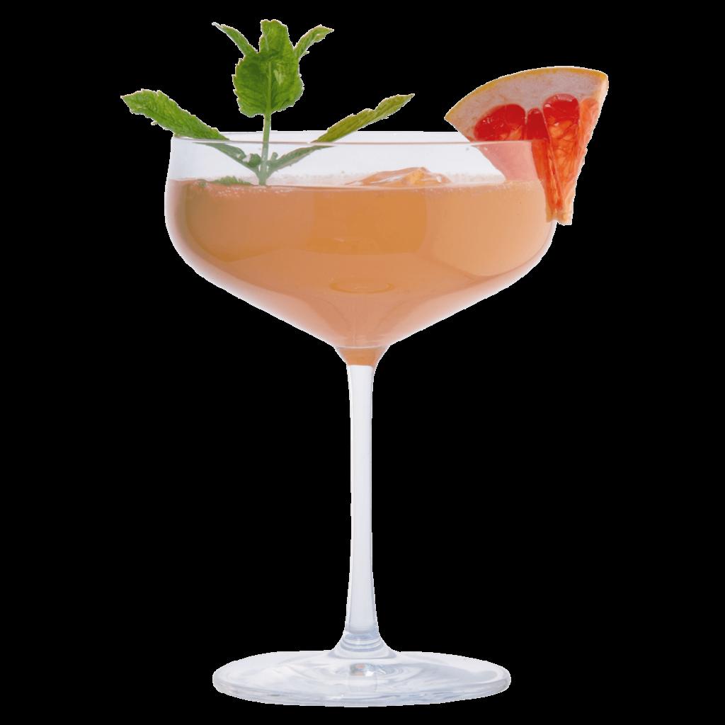 Gin Grapefruit Spritz mit THE DUKE Munich Dry Gin, Prosecco und Pfefferminze