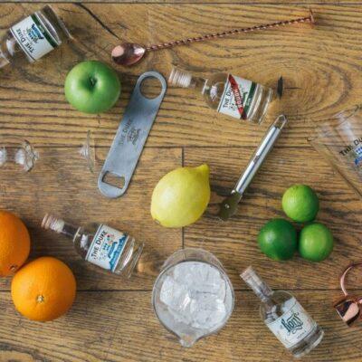 THE DUKE Tasting Set für Online Gin Tastings