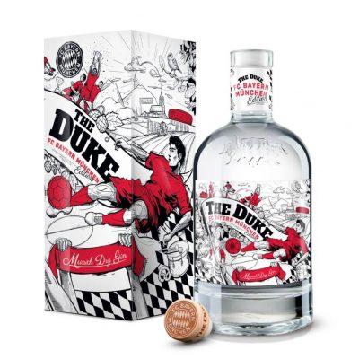 70 cl Flasche THE DUKE Gin FC Bayern München Edition Liberalitas Bavarica