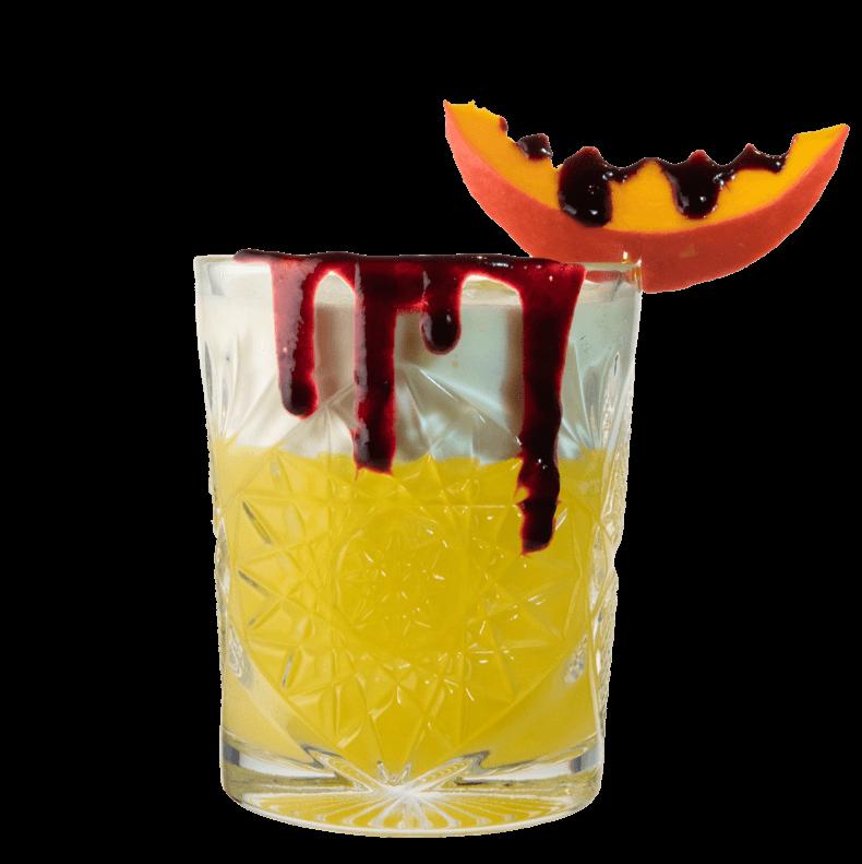 Pumpkin Gin Sour mit THE DUKE Gin und Kürbis