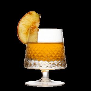 Winter Vodka Drink mit Bratapfel infused LION's Vodka
