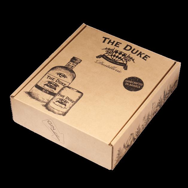 Geschenk Box Gin Tasting Set THE DUKE